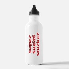 super social worker (Red) Water Bottle
