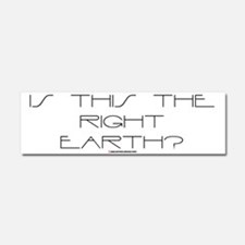Right Earth Car Magnet 10 x 3