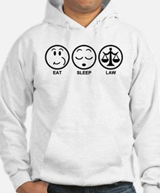 Eat Sleep Law Hoodie