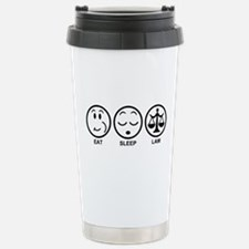 Eat Sleep Law Travel Mug