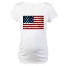 USA Flag Grunge Shirt