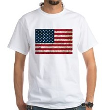 USA Flag Grunge Shirt