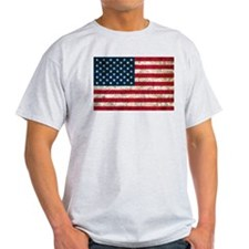 USA Flag Grunge T-Shirt