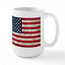 USA Flag Grunge Mug