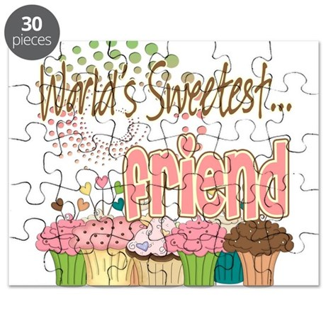 World's Sweetest Friend Puzzle