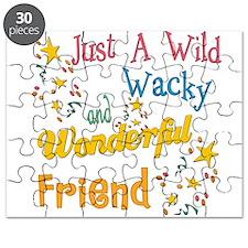 Wild Wacky Friend Puzzle