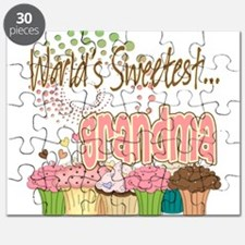 World's Sweetest Grandmother Puzzle