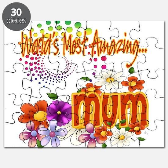 Most Amazing Mum Puzzle