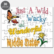 Wild Wacky Middle Sister Puzzle