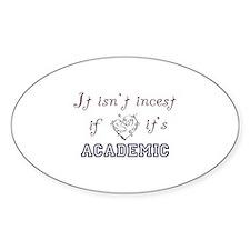 Academic Incest LG Decal