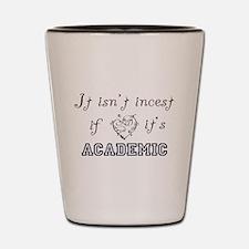 Cute Academics Shot Glass