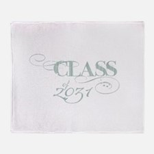 Class of 2031 Throw Blanket