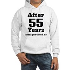 55th Anniversary Funny Quote Hoodie