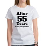 55th wedding anniversary Women's T-Shirt
