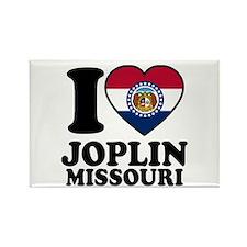 Love Joplin, MO Rectangle Magnet