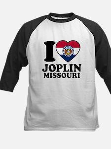 Love Joplin, MO Kids Baseball Jersey