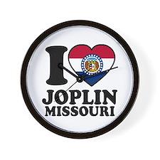 Love Joplin, MO Wall Clock