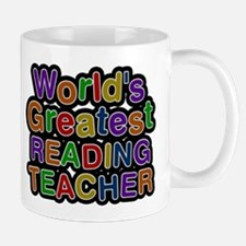 Worlds Greatest READING TEACHER Mugs