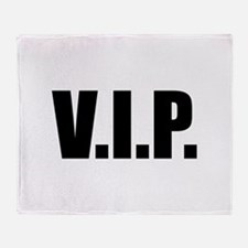 V.I.P. Throw Blanket