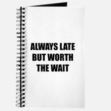 Worth the wait Journal