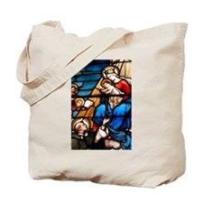 St Dominic and the Rosary Tote Bag