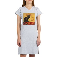 Le Chat Noir Women's Nightshirt