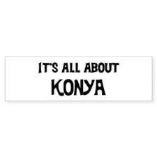 All about Konya Bumper Car Sticker