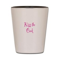 Kiss The Cook Shot Glass