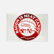 Bacon Is Meat Candy Rectangle Magnet (100 pack)