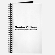 Senior Citizen Discount Journal
