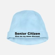 Senior Citizen Discount baby hat