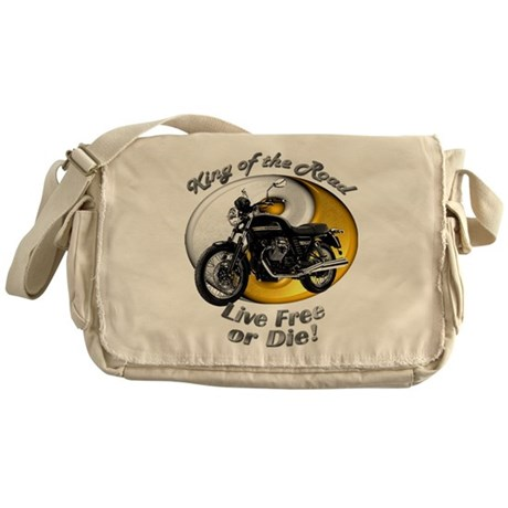 Moto Guzzi V7 Classic Messenger Bag