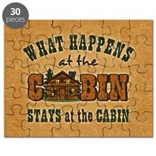 Happens At The Cabin Puzzle