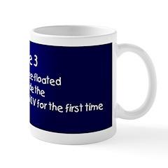 Mug: Edward H. White free-floated for 21 minutes o