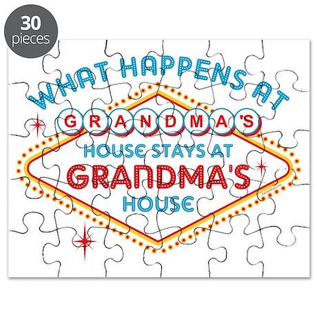 Las Vegas Stays At Grandma's Puzzle
