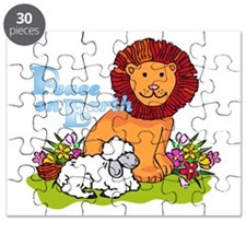 Lion & Lamb Peace On Earth Puzzle