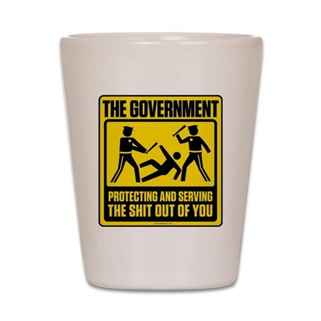 The Government Shot Glass