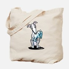 Rabbit Lover Greyhound Tote Bag