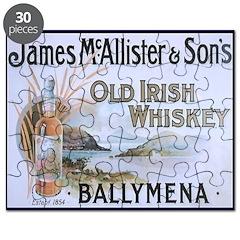 McAllister Whiskey Puzzle