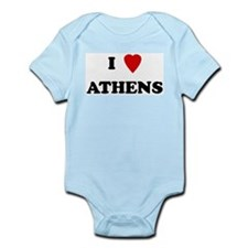 I Love Athens Infant Creeper
