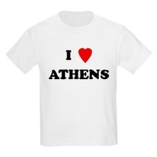 I Love Athens Kids T-Shirt