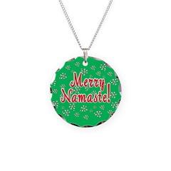 Yoga Christmas Necklace