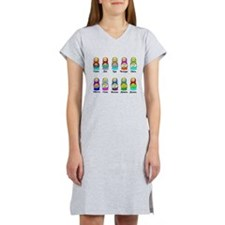 Nesting Dolls Women's Nightshirt