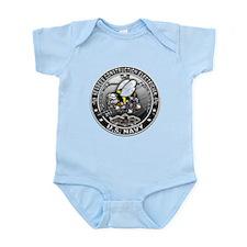 USN Seabees Construction Elec Infant Bodysuit