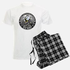 USN Seabees Construction Elec Pajamas