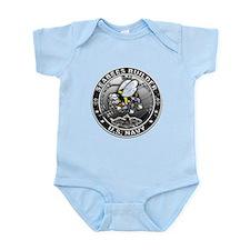 USN Seabees Builder BU Infant Bodysuit