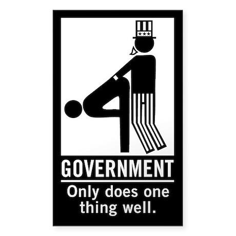 Anti State Sticker (Rectangle)
