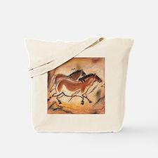 Petroglyph Horses Tote Bag