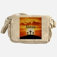 Lithuanian Jesus Messenger Bag
