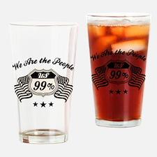 Highway 99% -bw Drinking Glass